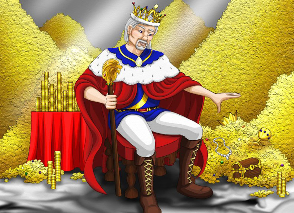 King In Counting Chamber