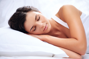 woman-sleeping help with sleep